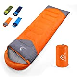 oaskys Camping Sleeping Bag - All Season Warm & Cold Weather -...
