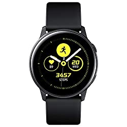 A smart essential - thin, lightweight and tough, the stylish Galaxy Active watch fits in with your lifestyle Case Material: Aluminium, Samsung's new smartwatch comes in a range of colours and interchangeable straps The dynamic Galaxy Watch Active wil...