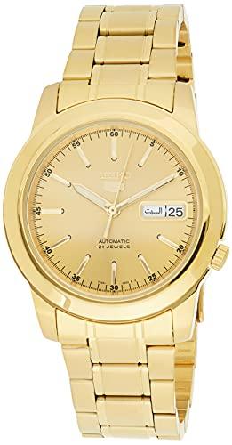 Seiko SNKE56 - Reloj para Hombres Color Dorado