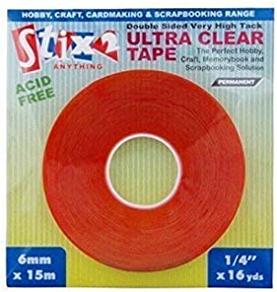 Multicolour Personal Impressions Extra Sticky Double Sided Tape 3mm
