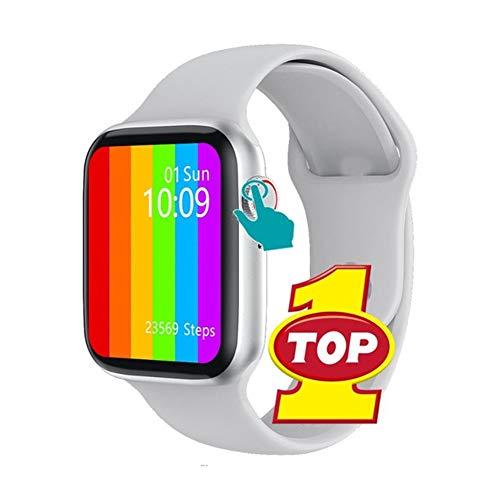 Reloj inteligente, monitor de frecuencia cardíaca Ecg, podómetro, rastreador de ejercicios, llamada Bluetooth, Ip68, reloj inteligente con detección de temperatura corporal a prueba de agua,Bl