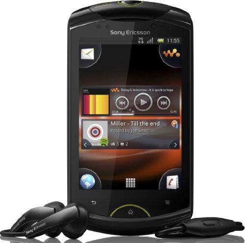 Sony Ericsson Live mit Walkman Smartphone (8,1 cm (3,2 Zoll) Bildschirm, Touchscreen, Android 2,3, 5 Megapixel Kamera) schwarz
