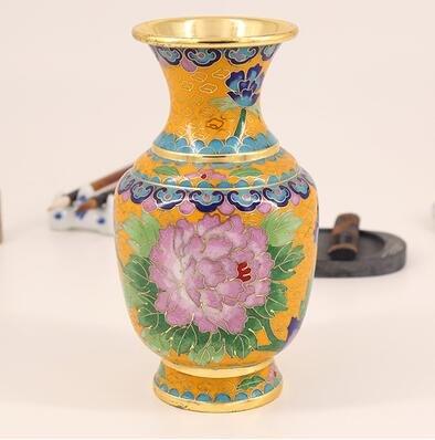 Blue flowers Special Crafts Cloisonne Kupferreifen Emaille Ornamente