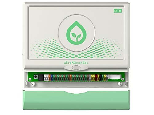 Aifro WaterEco Lite Wi-Fi Irrigation Controller, Weather Aware, 16 Zones