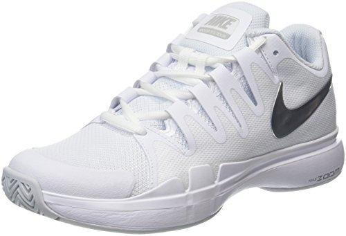 Nike Damen Zoom Vapor 9.5 Tennisschuhe, Weiß (White/Black-Black), 40.5 EU