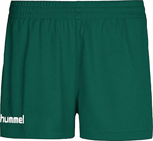 hummel Core Womens Shorts, Pantaloni Donna, Evergreen PR, XXL
