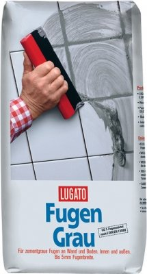 Lugato Fugengrau 5 kg - Fugenmörtel für keramische Beläge