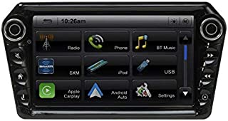 "Stinger ELEV8 8"" Multimedia Car Stereo with 1024 x 600 HD Display. Apple Car Play, Android Auto, SiriusXM Ready, Bluetooth..."
