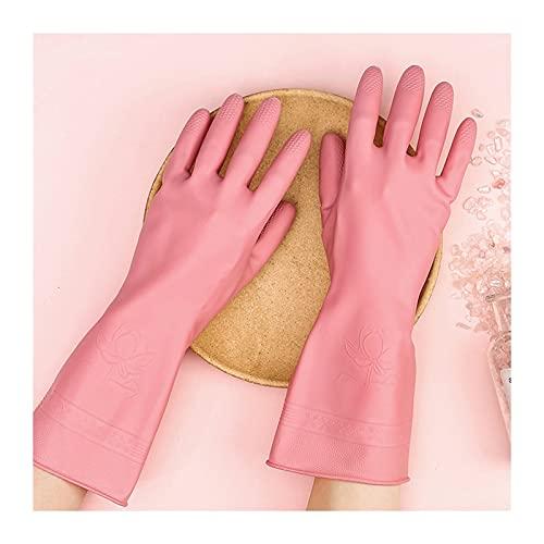 1pair schoonmaakhandschoenen keuken waterdicht afwashandschoen Duurzaam rubberen schotel wassen voor huishoudelijke…