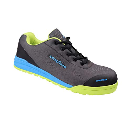 Goodyear GYSHU1569 calzado de trabajo, 11 UK / 45 EU, multicolor, 1