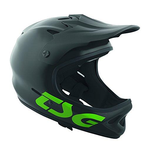 TSG 750829-50-464 Helm, schwarz/grün