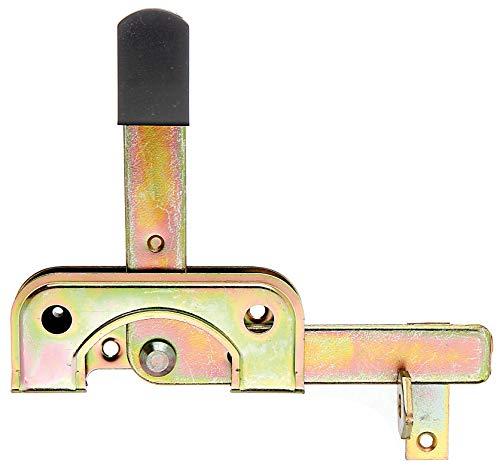 GAH-Alberts 209551 Gartentorfalle, speziell für schmale Rahmenhölzer, galvanisch gelb verzinkt, 120 x 50 mm