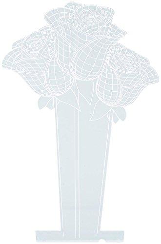 Motif 3D pour socle lumineux LS-7.3D - Roses [Lunartec]