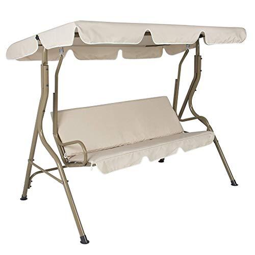 Schaukel Sitzbezug,Wasserdichtes Universale Schaukel Abdeckung für die der Hollywoodschaukel für GartenYard Outdoor Sitz Ersatz Stuhl Sitzpolsterbezug Sitzflachenbezug Schaukelauflage 150x150x10cm
