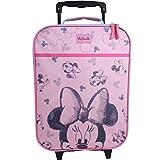 Vadobag Disney Minnie Mouse Koffer Trolley Kinderkoffer Trolly Handgepäck Kinder Mädchen