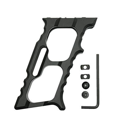LIOOBO 1 Satz ergonomischer Griff für den mlok keymod Handschutzgriff zum Reparieren von Heimwerkerutensilien