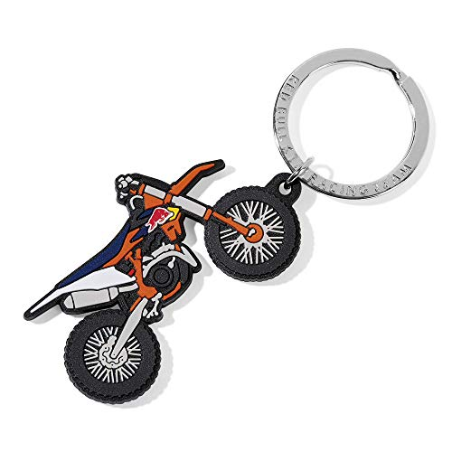 Red Bull KTM MX Keyring, Mehrfarben Unisex One Size 0, Red Bull KTM Factory Racing Original Bekleidung & Merchandise