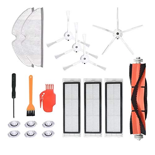 Read About Vacuum Cleaner Replacement Kit 19pcs Replacements Accessories kit for Roborock S6 S5 E35 ...