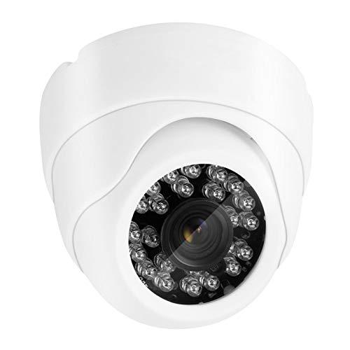 DAUERHAFT Cámara de vigilancia Cámara de Seguridad 24 LED Infrarrojos para monitorear la Seguridad Familiar en el hogar para Uso en Interiores(European regulations)