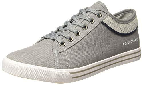Aeropostale Men's Light Grey Sneakers- 9 UK/India (42 EU) (2601810902)