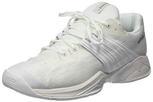 Babolat Męskie buty Propulse Fury Allcourt, biały - biały - 47 EU