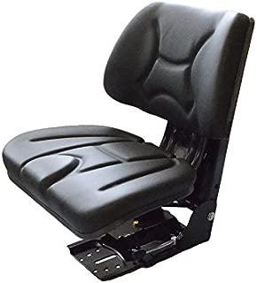Schleppersitz Traktorsitz Staplersitz Baumaschinensitz PVC Mechanisch gefedert