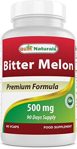 Best Naturals Bitter Melon Extract 500mg 90 Veggie Capsules