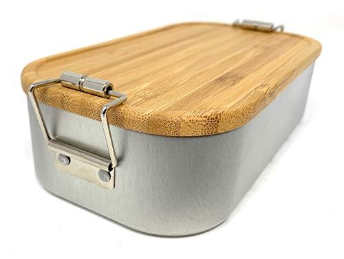 Laser Tattoo Lunchbox Bamboo klein - Stil trifft Nachhaltigkeit (Ohne Gravur)