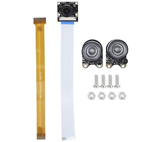 Módulo de cámara Camera Efficient Compatible con Pi 4B / 3B