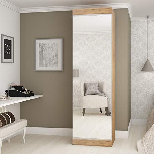 Sapateira 1 Porta com Espelho Esmeralda Gelius Móveis Madeirado