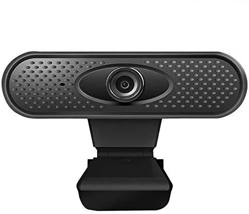 GANZTON - Webcam 1080P HD, 30FPS, Plug and Play, con microfono integrato, per FaceTime, Hangout, Live Streaming, giochi, chiamate e conferenze, PC Laptop Macbook Tablet e Windows
