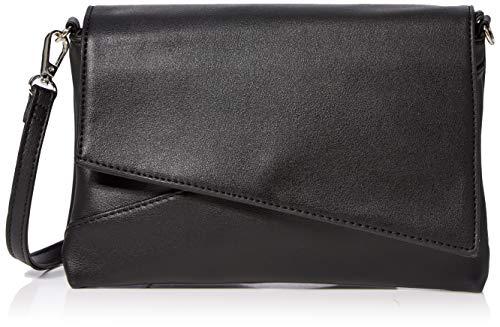 N.V. Bags N.V. BagsK921DamenClutchSchwarz (Black) 3x16x25 Centimeters (W x H x L)