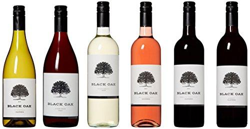 Black Oak Super Duper Red, White, Blush Wine Mixed Pack 6 x 750 ml