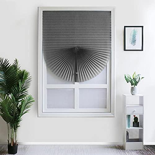 GTFHUH Persianas Sombras para Proteger Las persianas de la Ventana del Sol Cortinas de la Mitad de la Mitad del Rodillo para el baño del Dormitorio, la Cocina,6,60W x 180Lcm