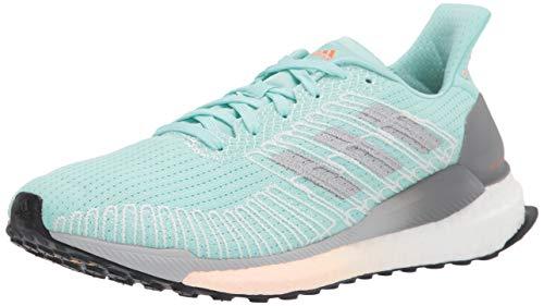 adidas Women's Solar Boost 19 Running Shoe, Frost Mint/White/Green, 6