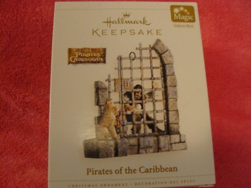 DISNEY - PIRATES OF THE CARIBBEAN 2006 Hallmark Ornament QXD6376 by Pirates of the Caribbean