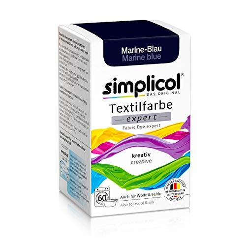 simplicol Textilfarbe expert Marine-Blau