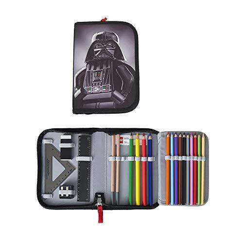 Lego - Schüleretui/Federtasche / Pencil Case- Star Wars Darth Vader - Gefüllt