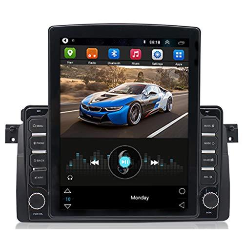 Sat Nav 9,7 Pulgadas camión satnav, tráfico en Vivo y actualizaciones de la cámara de Velocidad a través de WiFi, Adecuado para BMW E46 (3 Series)