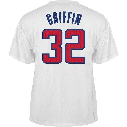 f8533cc4ff4 Blake Griffin Los Angeles Clippers Adidas White NBA Player T-Shirt