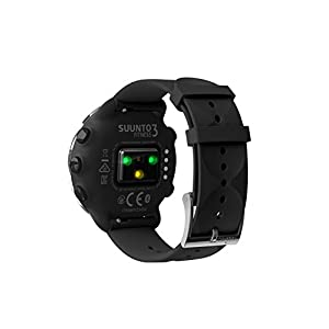 SUUNTO 3 Fitness Sports Watch with Wrist-Based Heart Rate, 24/7 Activity and Recovery Tracking - Black
