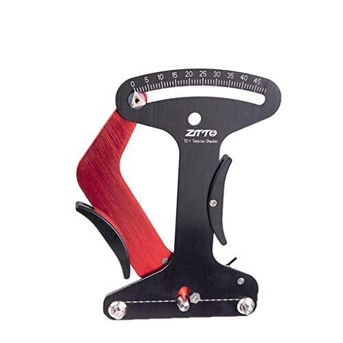 Morza Fahrradspeichen Tension Meter Kalibrierwerkzeug Berg Speichen Spannungsmesser Fahrrad-Rad-Speichen Tensiometer Spur Fahrrad-Reparatur-Werkzeug