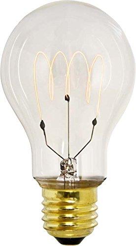 Scharnberger+Has. Kohlefadenlampe 60x105mm 41779 E27 235V 60W Allgebrauchsglühlampe Standard 4034451417793