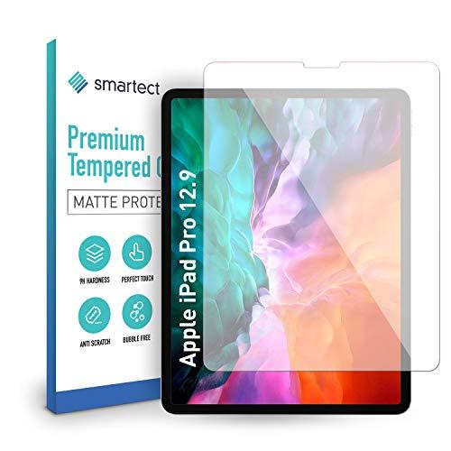 smartect Mattes Panzerglas kompatibel mit Apple iPad Pro 2018 (12.9) [MATT] - Displayschutz mit 9H Härte - Blasenfreie Schutzfolie - Anti Fingerprint Panzerglasfolie