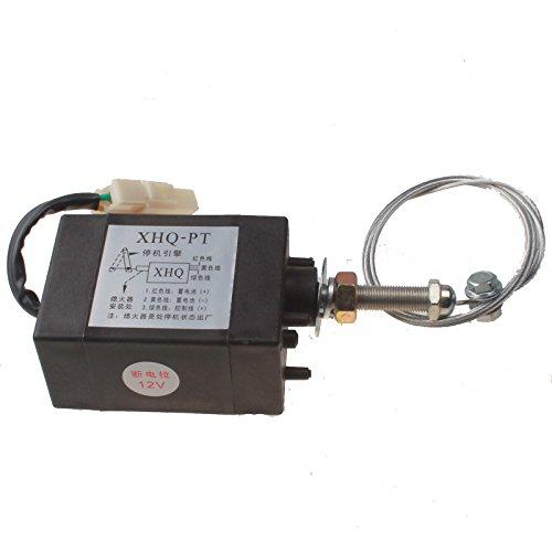Holdwell Engine Stop Solenoid Valve Electric Throttle Adjuster XHQ-PT 12V