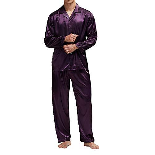 Hombre Pijama Conjunto Hombres Pijamas Ropa de Dormir Hombres