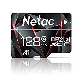 Micro SD Card, Netac Memory Card MicroSD High Speed Transfer A1 C10 U1 MicroSDHC TF Card for Cemera/Phone/Nintendo Switch/Galaxy/Drone/Dash Cam/GOPRO/Tablet/PC/Computer with Adapter 4 Up to 95MB/s & 15MB/s read & write speeds respectively; Class 10 UHS 12. includes: Full-Size adapter for use in Cameras and Laptop/Desktop Computers Rated A1 for faster app performance (Results may vary based on host device, app type and other factors.). Compatibility- Compatible with microSDHC and microSDXC supporting host devices High-performance for full HD video recording, high resolution pictures, mobile gaming and music, for use in Smartphones, Android Tablets, Tablet PCs, Action Cameras, DSLRs and more