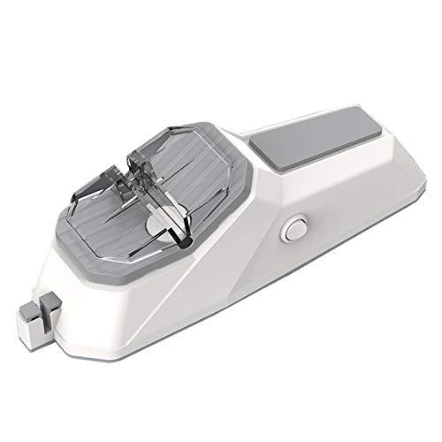 Soutien à couteau électrique Soutien à couteau électrique avec couvercle de protection Couteau de base antidérapante et ciseaux Cisserors Couteau Adapté pour tous types de couteaux Modèles USB