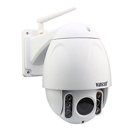 Saver WANSCAM hw0045 ONVIF 1080p fuoco zoom 2.8-12mm ptz wireless ir 80m telecamera di sicurezza IP impermeabile