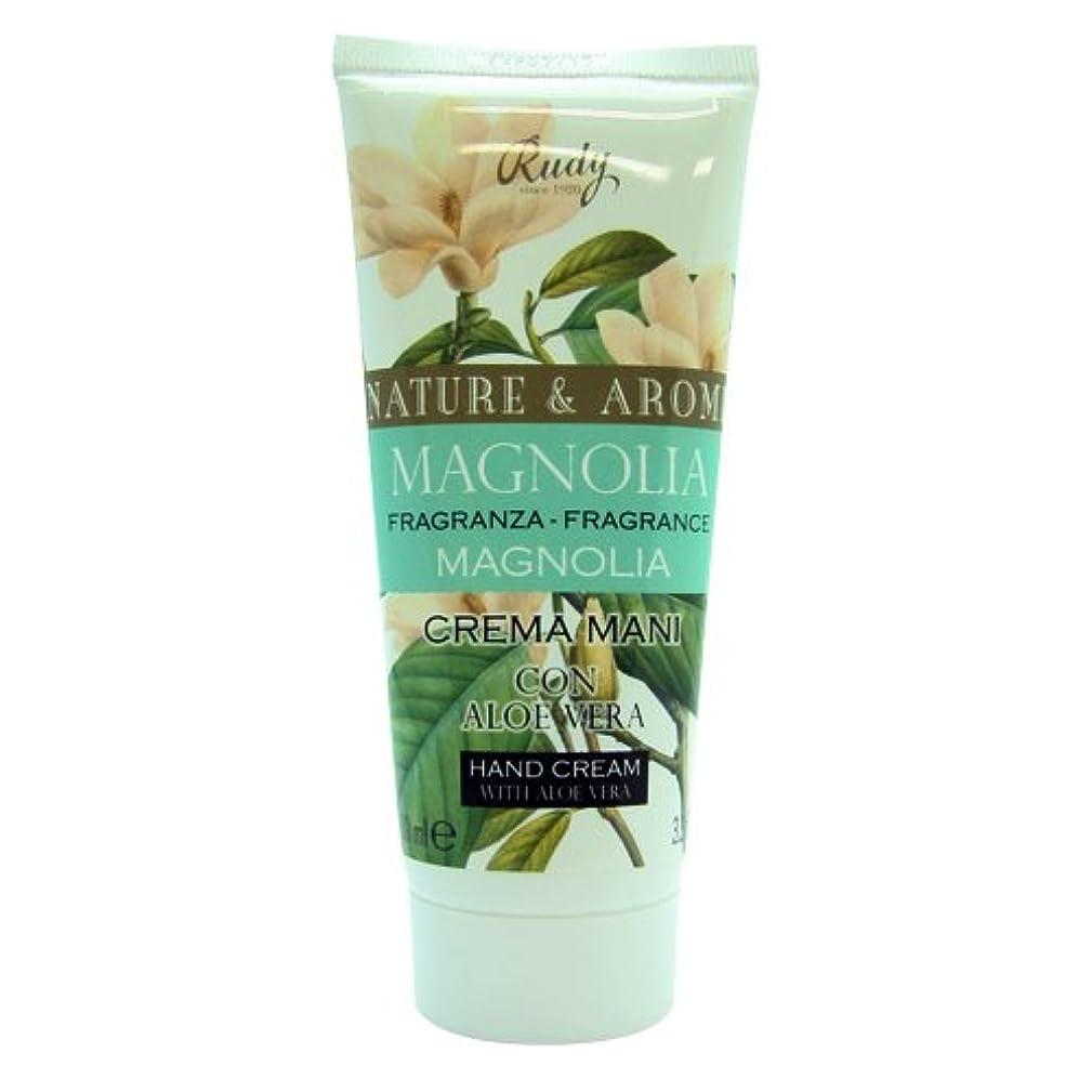 おしゃれな講義矛盾RUDY Nature&Arome SERIES ルディ ナチュール&アロマ Hand Cream ハンドクリーム  Magnolia マグノリア